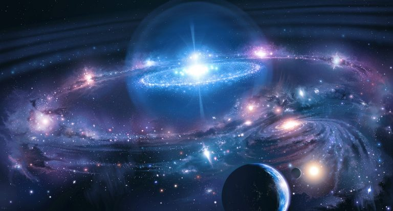 Macrocosm and microcosm show the unity