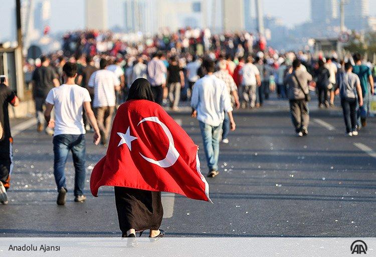 We strongly condemn the villainous coup attempt