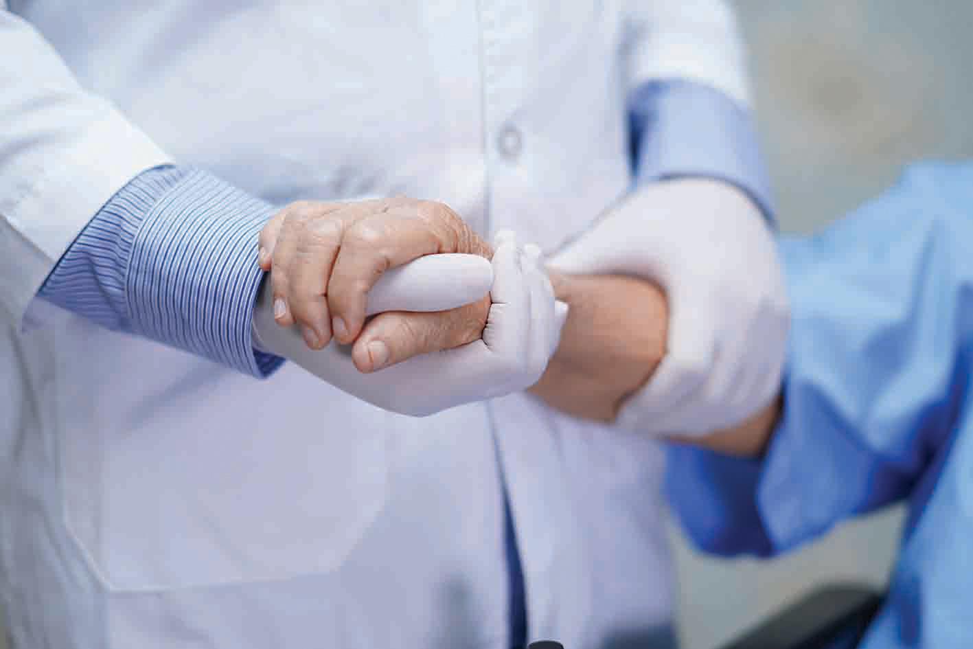 Consolation for the coronavirus patients